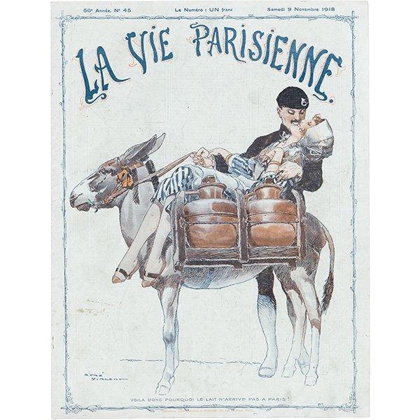 フランスの雑誌表紙 〜LA VIE PARISIENNE〜 098