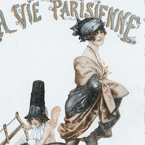 フランスの雑誌表紙 〜LA VIE PARISIENNE〜 099