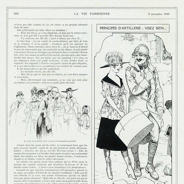 フランスの雑誌挿絵 〜LA VIE PARISIENNE〜 0100