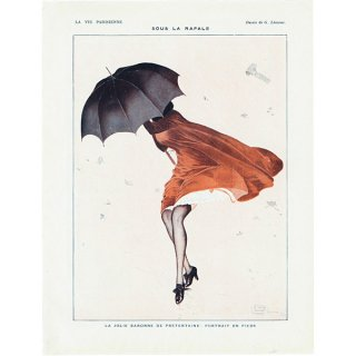 フランスの雑誌挿絵 〜LA VIE PARISIENNE〜 0101