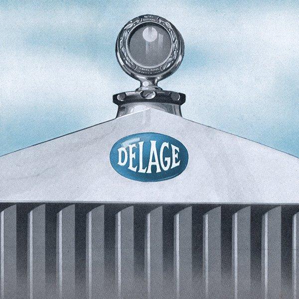 DELAGE(ドラージュ:フランス自動車メーカー)のヴィンテージ広告 0020