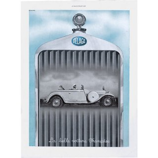 DELAGE(ドラージュ:フランス自動車メーカー)のヴィンテージ広告 0020<img class='new_mark_img2' src='https://img.shop-pro.jp/img/new/icons5.gif' style='border:none;display:inline;margin:0px;padding:0px;width:auto;' />