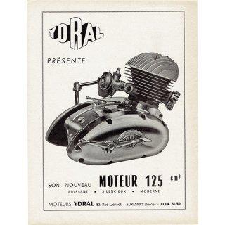 フランスのバイク雑誌広告 YDRAL 076