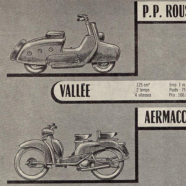 ヴィンテージバイク16台(VESPA、RAVAT、GUZZI、etc) 0024