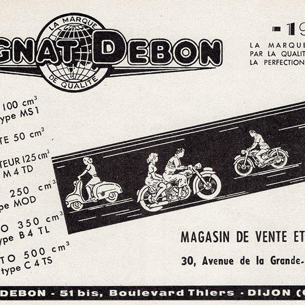 オートバイ雑誌のヴィンテージ広告 0079