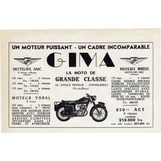 オートバイ雑誌のヴィンテージ広告 0080