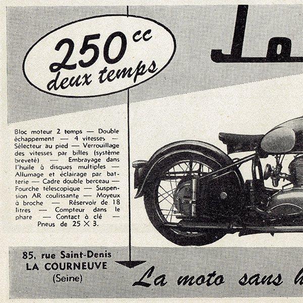 オートバイ雑誌のヴィンテージ広告 0082