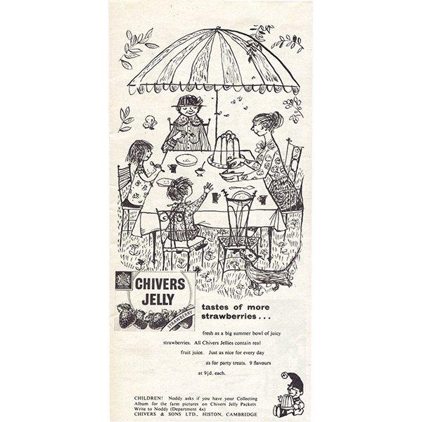 イギリスのヴィンテージ雑誌の広告 CHIVERS & SONS  0086