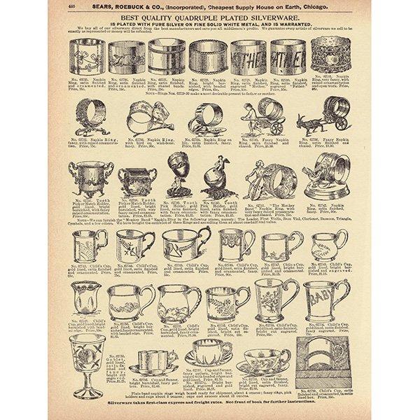 シアーズ・ローバック通販カタログより4set(1968年)sr007