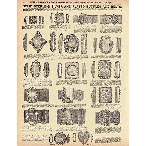 シアーズ・ローバック通販カタログより3set(1968年)sr008