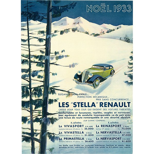 RENAULT(ルノー)クラシックカーのヴィンテージ広告 0028<img class='new_mark_img2' src='https://img.shop-pro.jp/img/new/icons5.gif' style='border:none;display:inline;margin:0px;padding:0px;width:auto;' />