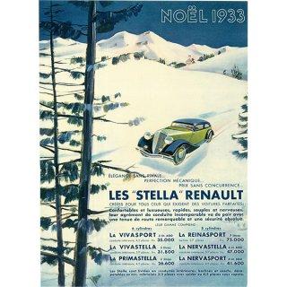 RENAULT(ルノー)クラシックカーのヴィンテージ広告 0028