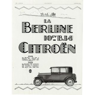Citroën(シトロエン)クラシックカーのヴィンテージ広告 0031<img class='new_mark_img2' src='https://img.shop-pro.jp/img/new/icons5.gif' style='border:none;display:inline;margin:0px;padding:0px;width:auto;' />