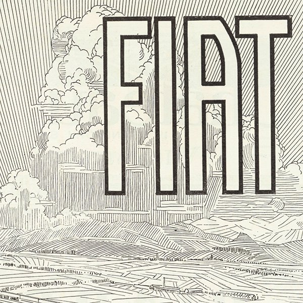 FIAT(フィアット)クラシックカーのヴィンテージ広告 0032<img class='new_mark_img2' src='https://img.shop-pro.jp/img/new/icons5.gif' style='border:none;display:inline;margin:0px;padding:0px;width:auto;' />