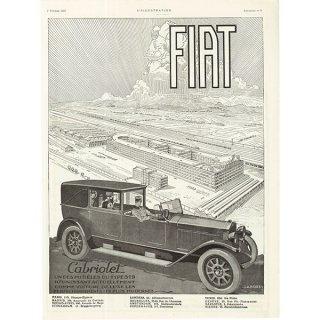 FIAT(フィアット)クラシックカーのヴィンテージ広告 0032
