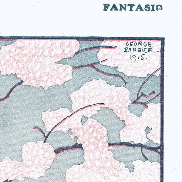 ジョルジュ・バルビエ(George Barbier)挿絵 〜FANTASIO〜より 0104