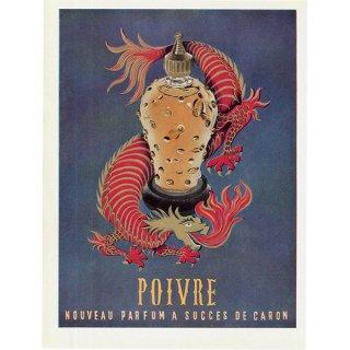 フランスの雑誌ヴィンテージ広告 Caron(キャロン)の香水 0113