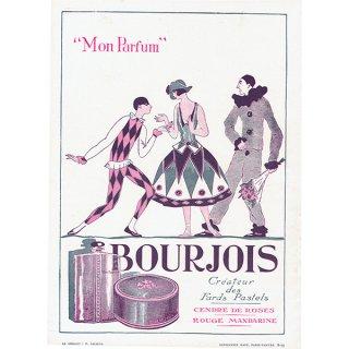 フランスの雑誌 〜FANTASIO〜より 「BOURJOIS」アドバタイジング 0115