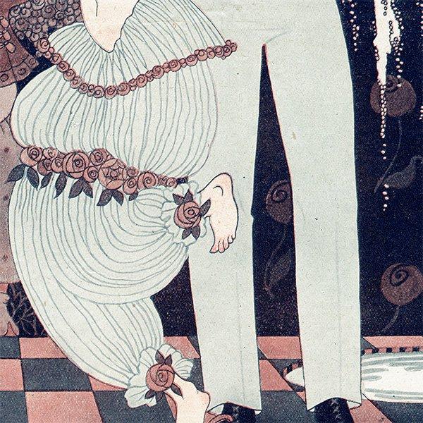 ジョルジュ・バルビエ(George Barbier)挿絵 〜FANTASIO〜より 0107