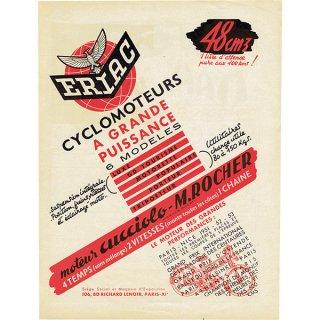 ヴィンテージバイク雑誌の広告 0034