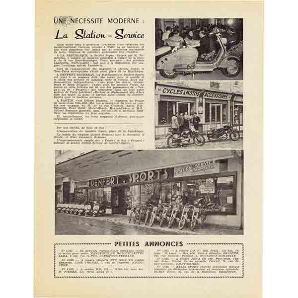 ヴィンテージバイク雑誌の広告 0035