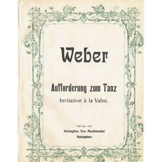 スウェーデンのアンティーク楽譜 Weber(全10ページ) 063
