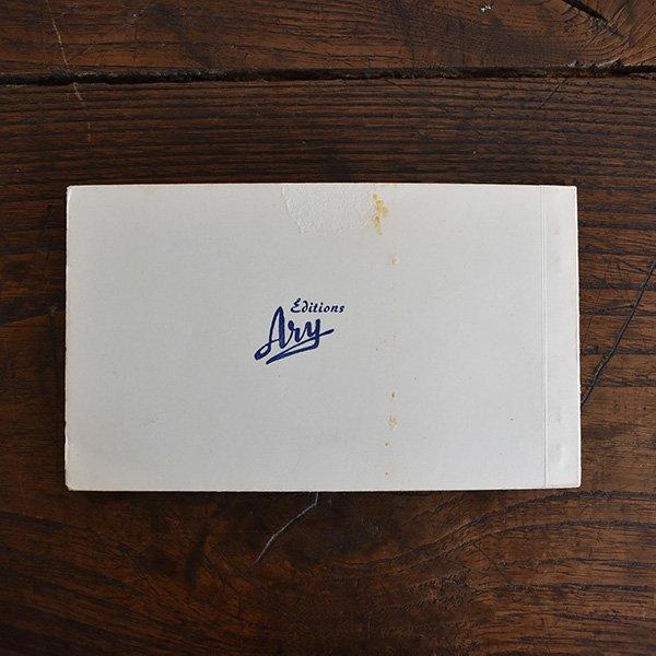 フレンチアンティークポストカードブック10枚つづり*ヴェルドン峡谷 pa-008