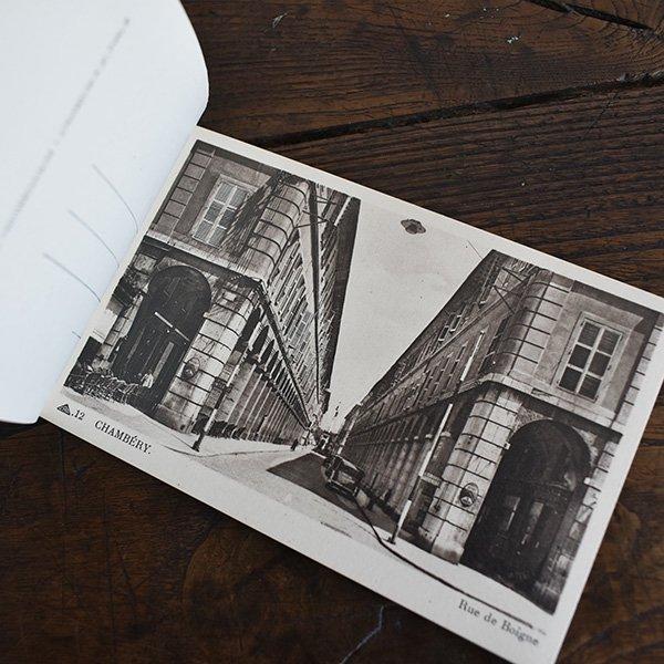 フレンチアンティークポストカードブック12枚つづり*シャンベリー pa-009