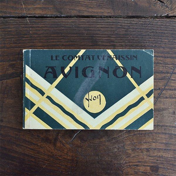 フレンチアンティークポストカードブック20枚つづり*アヴィニョン pa-011