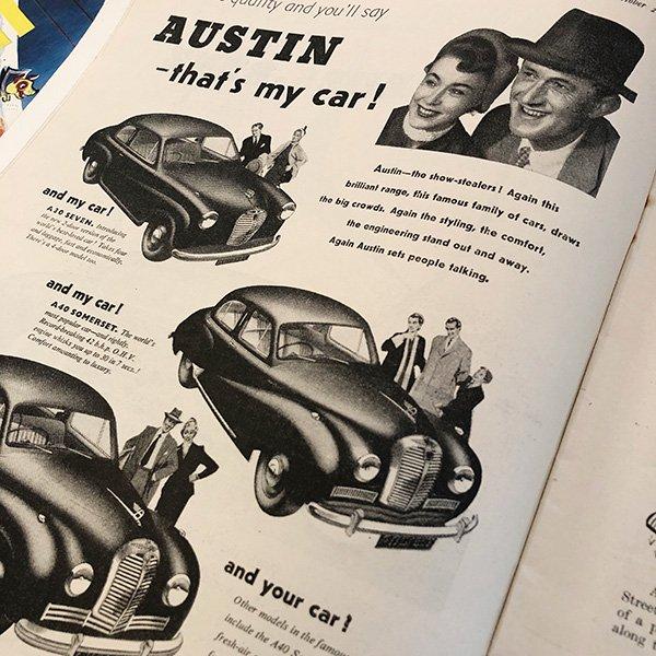 イギリスの週刊風刺漫画雑誌PUNCH(パンチ)1953年10月21日号 0125<img class='new_mark_img2' src='https://img.shop-pro.jp/img/new/icons5.gif' style='border:none;display:inline;margin:0px;padding:0px;width:auto;' />
