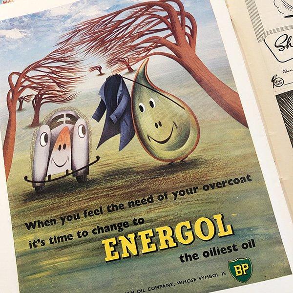 イギリスの週刊風刺漫画雑誌PUNCH(パンチ)1953年10月21日号 0125