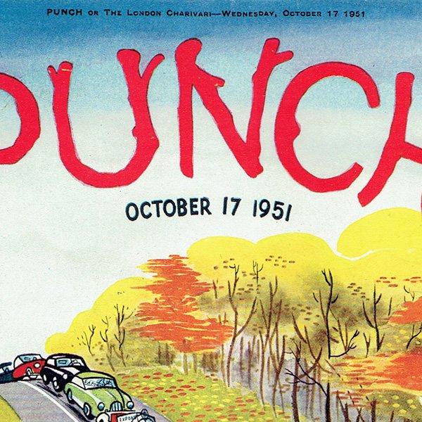 イギリスの週刊風刺漫画雑誌PUNCH(パンチ)1951年10月17日号 0126