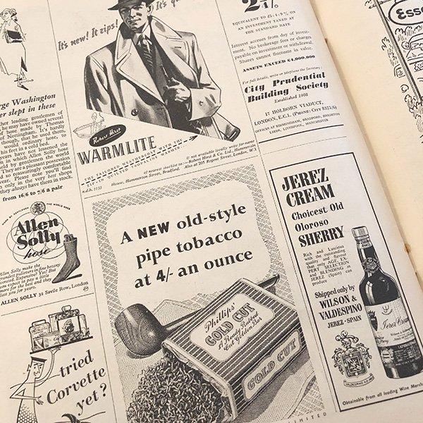 イギリスの週刊風刺漫画雑誌PUNCH(パンチ)1952年11月26日号 0128