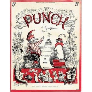 イギリスの週刊風刺漫画雑誌PUNCH(パンチ)1953年11月25日号 0129