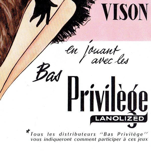 フランスの1950年代ファッション雑誌より 0130