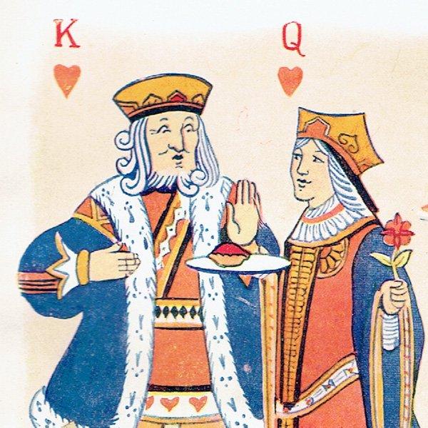 Queen Of Hearts イラスト:マーガレット・タラント(ナーサリー・ライム)0004