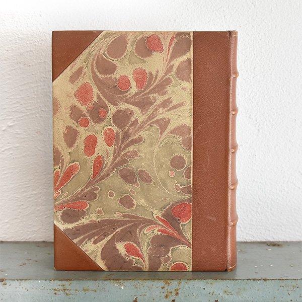 デンマーク 北欧 アンティークブック 古い洋書 ディスプレイ026