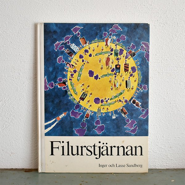 FILURSTJARNAN(インゲル&ラッセ・サンドベリ Inger & Lasse Sandberg)絵本 1971年 030