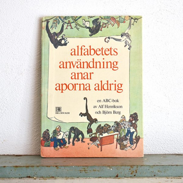 alfabetets anvandning anar aporna aldrig ビヨルン・ベルイ(Björn Berg) 1974年 033<img class='new_mark_img2' src='https://img.shop-pro.jp/img/new/icons5.gif' style='border:none;display:inline;margin:0px;padding:0px;width:auto;' />
