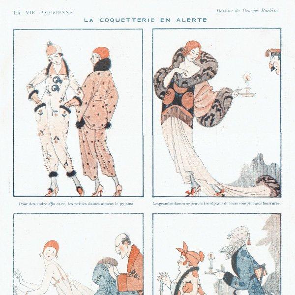 ジョルジュ・バルビエ(George Barbier)フランスの雑誌挿絵 〜LA VIE PARISIENNE〜より 0118