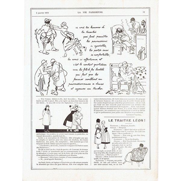 フランスの雑誌挿絵 〜LA VIE PARISIENNE〜より Zyg Brunner 0119