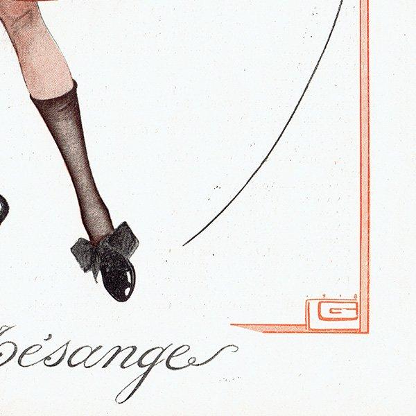 フランスの雑誌挿絵 〜LA VIE PARISIENNE〜より ジョルジュ・レオネック(Georges Léonnec) 0121