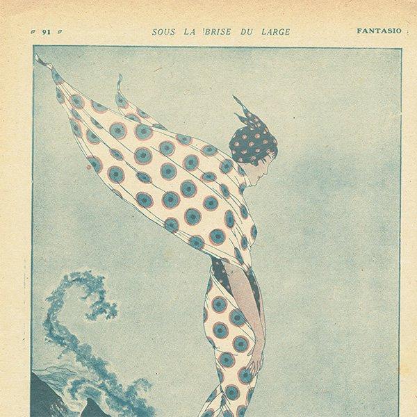 フランスの雑誌挿絵 〜FANTASIO〜より 0122