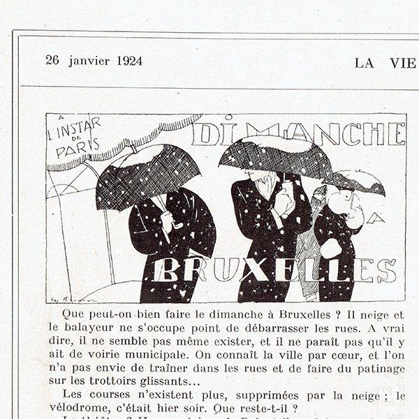 フランスの雑誌挿絵 〜LA VIE PARISIENNE〜より (René Préjelan) 0124<img class='new_mark_img2' src='https://img.shop-pro.jp/img/new/icons5.gif' style='border:none;display:inline;margin:0px;padding:0px;width:auto;' />