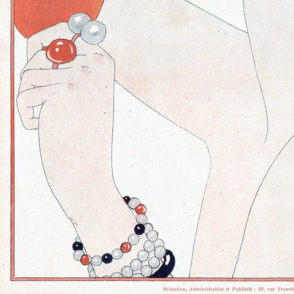 ジョルジュ・バルビエ(George Barbier)フランスの雑誌表紙 〜LA VIE PARISIENNE〜より 0126