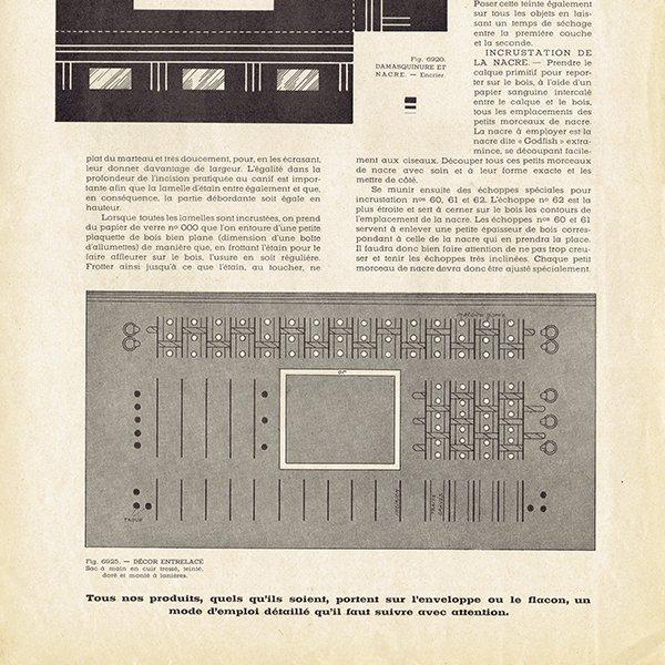 フランスのアールデコ装飾美術雑誌 〜L'ARTISAN PRATIQUE〜より 0146