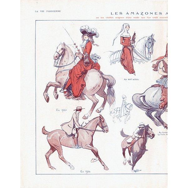 フランスの雑誌挿絵 〜LA VIE PARISIENNE〜よりLouis Vallet 0127