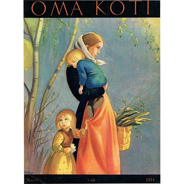 フィンランドの暮らしの情報誌 表紙 〜OMA KOTI〜No.9 0155