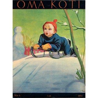 フィンランドの暮らしの情報誌 表紙 〜OMA KOTI〜No.4 0158