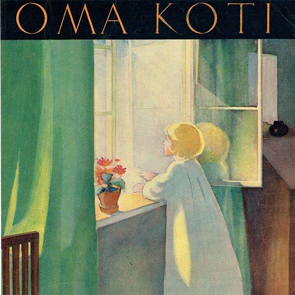 フィンランドの暮らしの情報誌 表紙 〜OMA KOTI〜No.8 0161